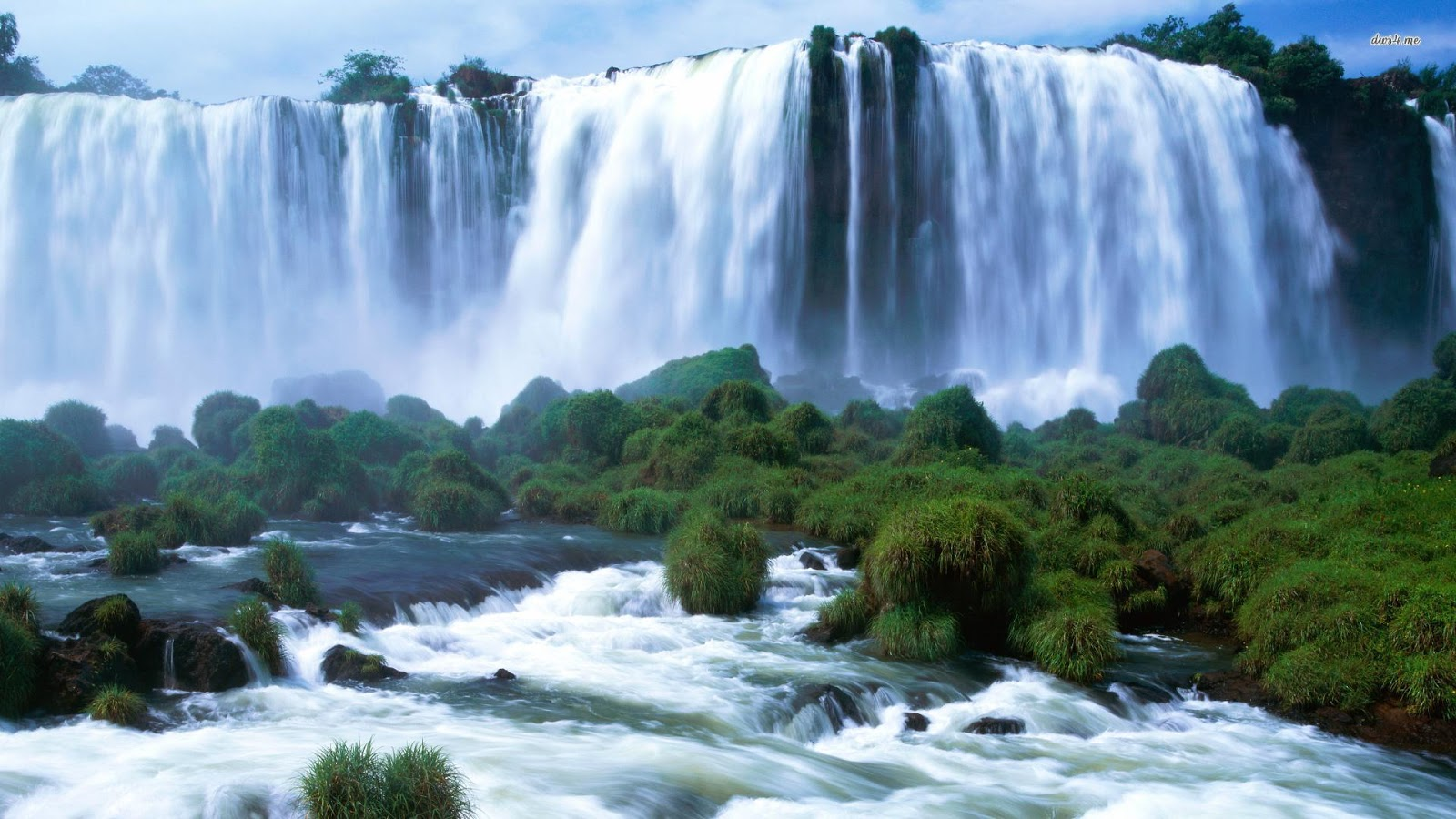 Bộ hình nền thác nước đẹp Full HD